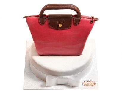 Schicke Tasche Torte