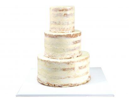 Semi Naked Cake undekoriert