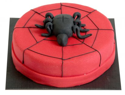 Spinne Torte