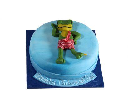 Tanzender Frosch Torte