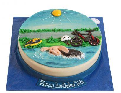 Triatlon Torte