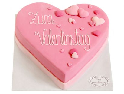 Valentinstag Herz 2 Torte