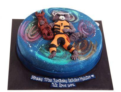 Waschbär Torte