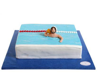 Wasser Rugby Torte